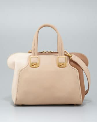 94efb947f325 Fendi Powder Blush Barley Chameleon Mini Bag