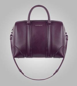 Givenchy Aubergine Lucrezia Mini Bag - Pre-Fall 2013