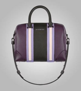 Givenchy Aubergine/Lilac/Ivory Lucrezia Mini Bag - Pre-Fall 2013