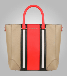 Givenchy Beige/Red/Black/Ivory Lucrezia Mini Shopping Bag - Pre-Fall 2013