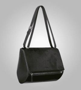 Givenchy Black Pony-Style New Pandora Medium Bag - Pre-Fall 2013