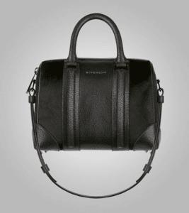 Givenchy Black Pony-Style and Print Leather Lucrezia Mini Bag - Pre-Fall 2013