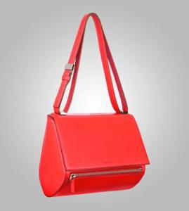 Givenchy Red New Pandora Medium Bag - Pre-Fall 2013