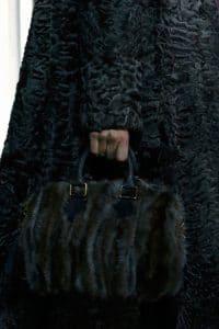 Louis Vuitton Black Marabou Duffle Bag - Fall 2013 Runway