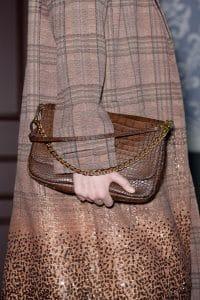 Louis Vuitton Brown Crocodile Flap Bag - Fall 2013 Runway