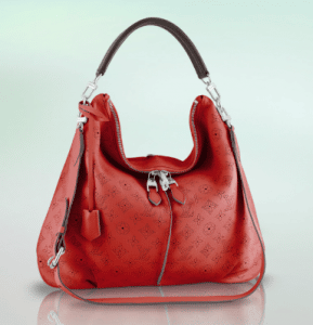 Louis Vuitton Coral Corail Mahina Selene MM Bag