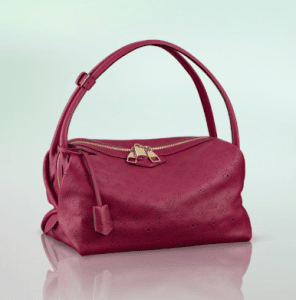 Louis Vuitton Red Grenat Mahina Galatea PM Bag
