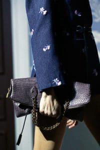 Louis Vuitton Grey Crocodile Bag - Fall 2013 Runway