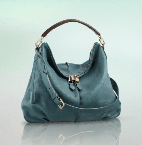 Louis Vuitton Turquoise Lagon Mahina Selene MM Bag