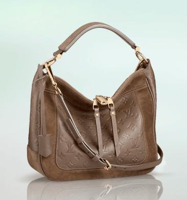 1a15ac0a70fc Louis Vuitton Taupe Ombre Monogram Empreinte Audacieuse PM Bag