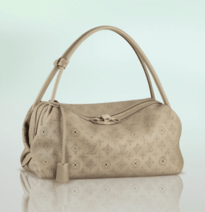 Louis Vuitton Beige Opal Mahina Galatea MM Bag