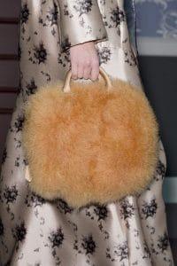 Louis Vuitton Orange Marabou Duffle Bag - Fall 2013 Runway
