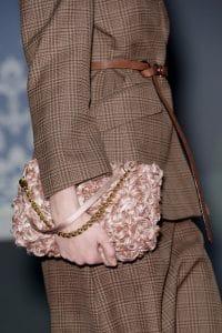 Louis Vuitton Pink Floral Pochette Bag - Fall 2013 Runway