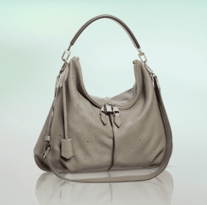 Louis Vuitton Taupe Mahina Selene MM Bag