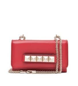 Valentino Red Va Va Voom Clutch Bag