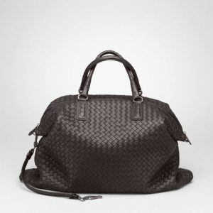 Bottega Veneta Ebano Intrecciato Nappa Convertible Bag