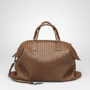 Bottega Veneta Junior Intrecciato Nappa Convertible Bag
