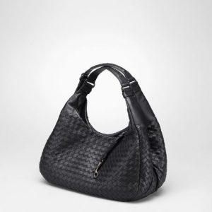 Bottega Veneta Nero Campana Small Bag