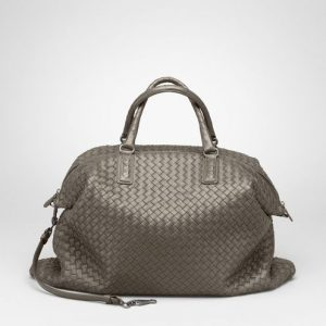 Bottega Veneta Shadow Intrecciato Nappa Convertible Bag
