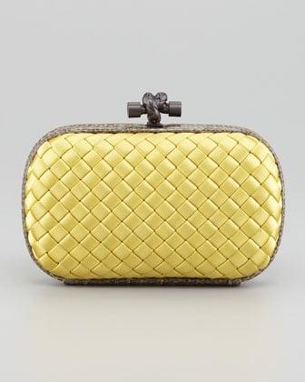 dabade516b0 Bottega Veneta Knot Clutch Bag Reference Guide   Spotted Fashion