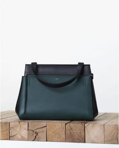 Celine Bicolor Green Edge Bag - Fall 2013