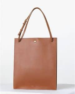 Celine Double Tan Shopping Tote bag - Fall 2013