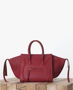 Celine Red Calfskin Phantom Bag - Fall 2013