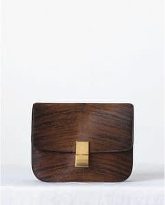 Celine Shaded Pony Calfskin Brown Box Bag - Fall 2013