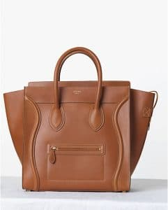 Celine Tan Palmelato Mini Luggage Bag - Fall 2013