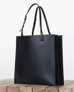 Celine Triple Black Calfskin Shopping Tote bag - Fall 2013