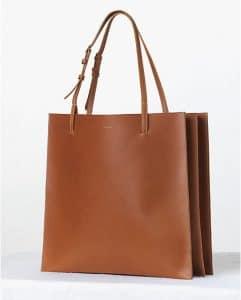 Celine Triple Tan Calfskin Shopping Tote bag - Fall 2013