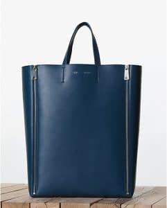 Celine Vertical Cabas Tote Lambskin Bag - Fall 2013