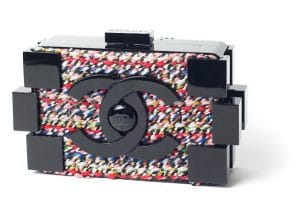 Chanel Black/Multicolor Lego Clutch Bag 2 - Fall 2013