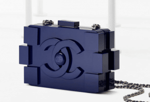 Chanel Blue Lego Clutch Bag - Spring 2013