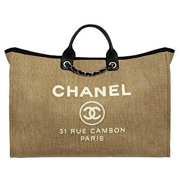 404afdd523de Chanel Deauville Canvas Tote Bag Reference Guide   Spotted Fashion