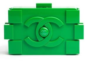Chanel Green Lego Clutch Bag - Spring 2013