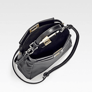 Fendi Black Peekaboo Mini Bag 3