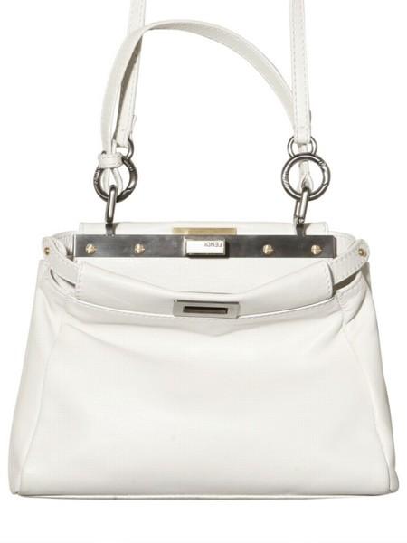 ff11221ee734 ... closeout fendi white peekaboo mini bag b2369 97592