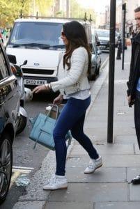 Tamara Ecclestone shopping with the Celine Glacier Phantom bag