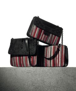 Bottega Veneta Millerighe Nero Karung Bags
