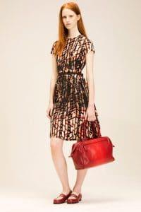 Bottega Veneta Fraise New Red Madras Sfumato Brera Bag 1 - Resort 2014