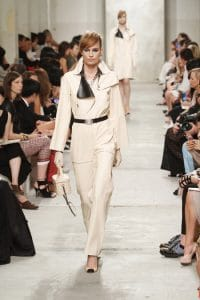 Chanel Beige Quilted Bag - Cruise 2014 Runway