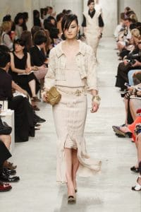 Chanel Gold Flap Bag - Cruise 2014 Runway