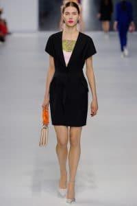 Dior Beige/Orange Flap Bag - Cruise 2014 Runway