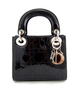 Dior Black Lady Dior Micro Bag