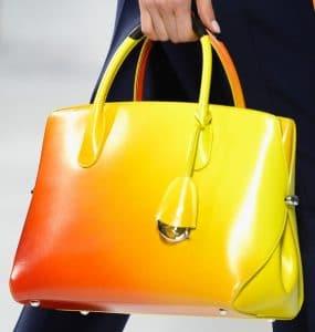 Dior Orange Ombre Dior Bar Bag - Cruise 2014