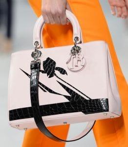 Dior Pink Diorissimo Bag - Cruise 2014