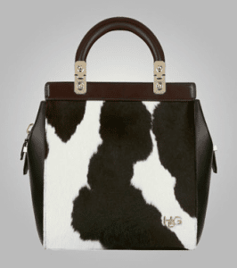 Givenchy Cow Skin House De Givenchy Tote Small Bag