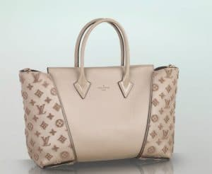 Louis Vuitton Beige Galet W PM Tote Bag