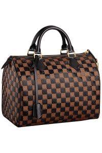 Louis Vuitton Black Damier Paillettes Speedy 30 Bag